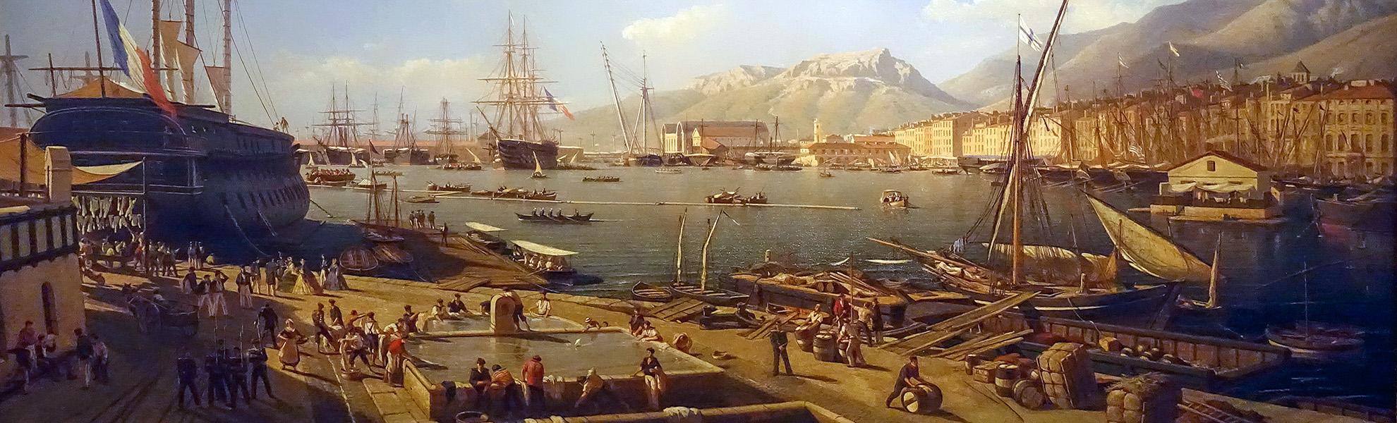 TOULON 1854
